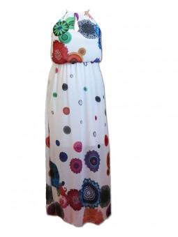 Dlouhé šifónové šaty