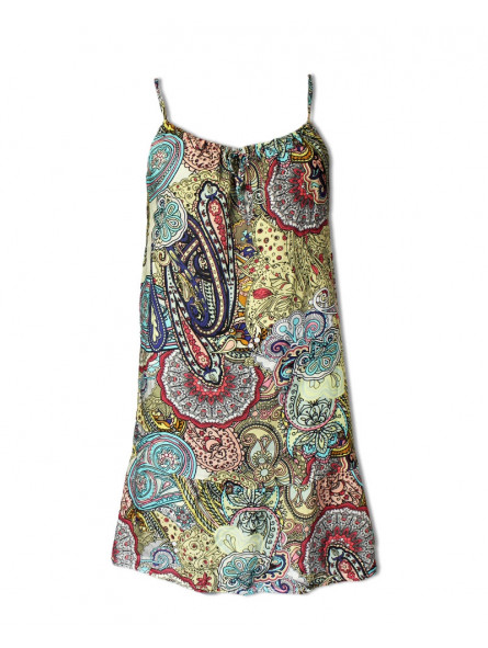Šaty s žakárovým vzorem