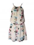 Květované šaty Milady