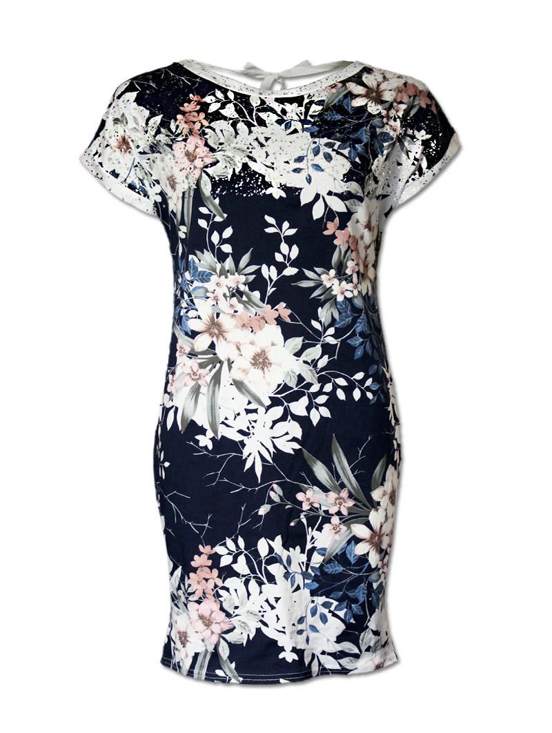 Šaty květované