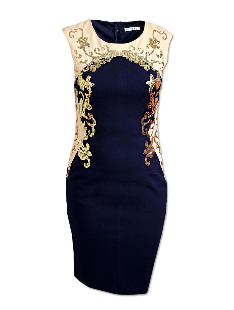 Společenské šaty M