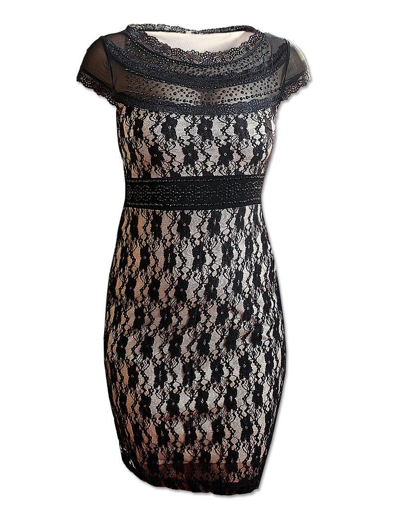 Krajkové šaty S, M