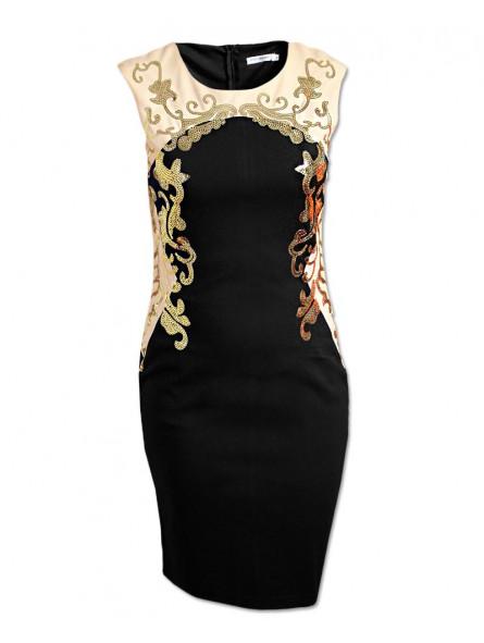 Společenské šaty s flitry