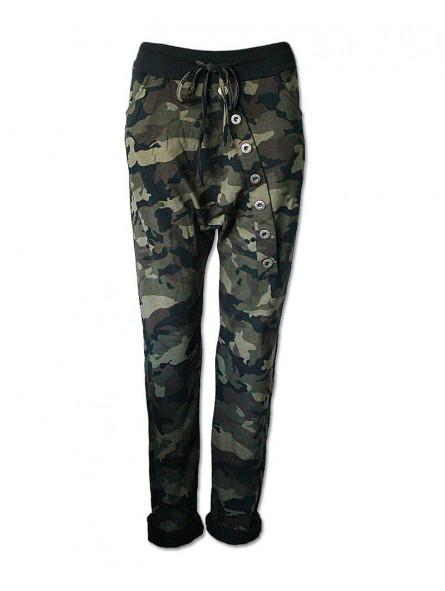 Kalhoty Maskáče s nízkým sedem